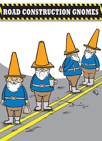 Road Construction Gnomes