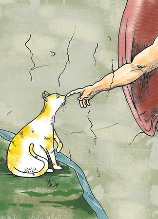 Sistine Kitty