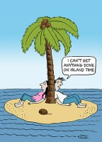Island Time Cartoon