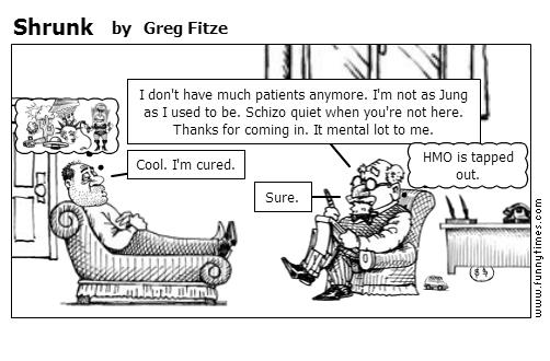 Shrunk by Greg Fitze