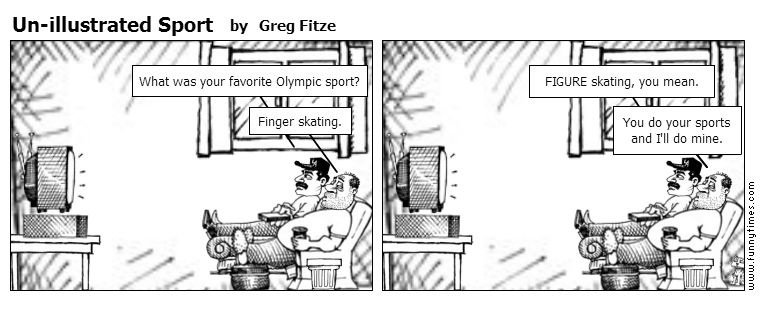 Un-illustrated Sport by Greg Fitze