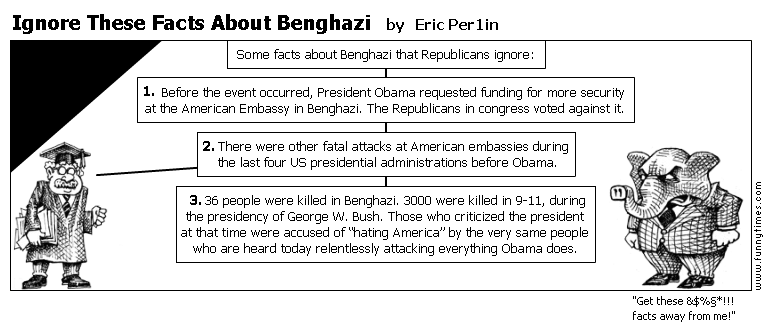 Ignore These Facts About Benghazi by Eric Per1in
