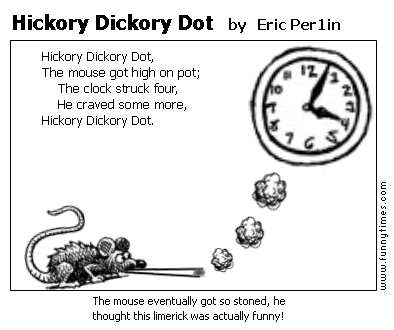 Hickory Dickory Dot by Eric Per1in