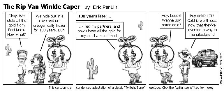 The Rip Van Winkle Caper by Eric Per1in