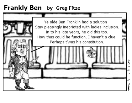 Frankly Ben by Greg Fitze