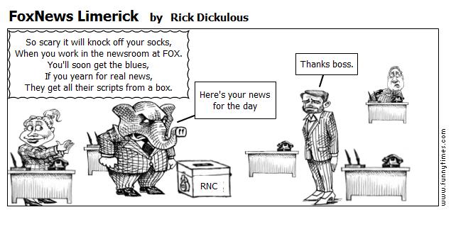 FoxNews Limerick by Rick Dickulous