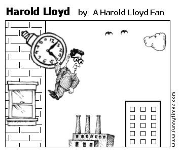 Harold Lloyd by A Harold Lloyd Fan