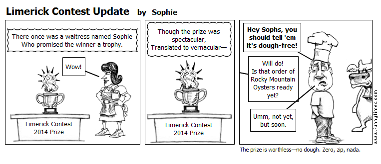 Limerick Contest Update by Sophie