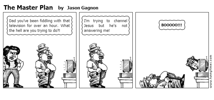 The Master Plan by Jason Gagnon
