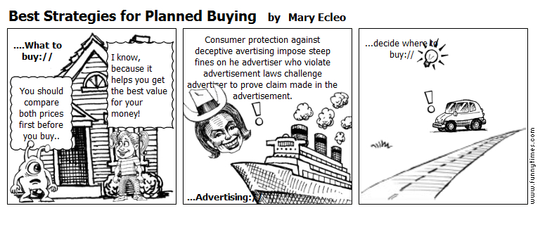 Best Strategies for Planned Buying by Mary Ecleo