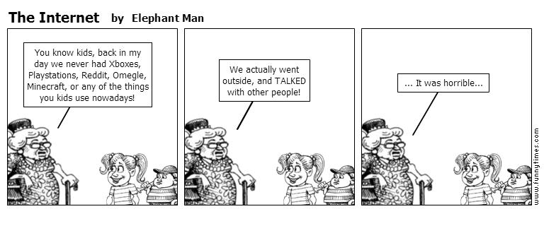 The Internet by Elephant Man