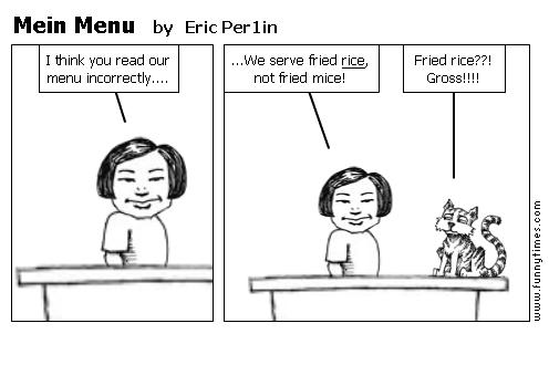 Mein Menu by Eric Per1in