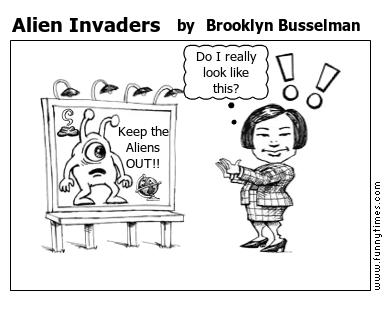 Alien Invaders by Brooklyn Busselman