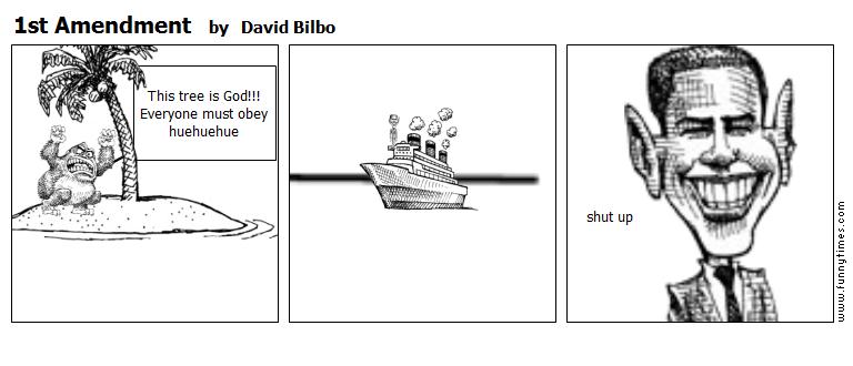 1st Amendment by David Bilbo