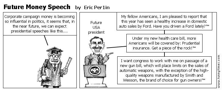 Future Money Speech by Eric Per1in