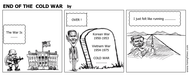 END OF THE  COLD WAR by
