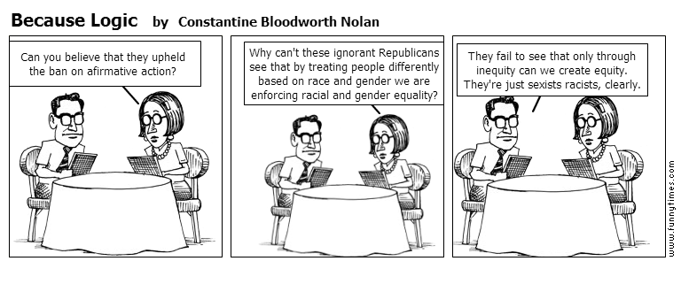 Because Logic by Constantine Bloodworth Nolan