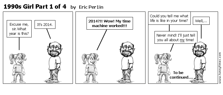 1990s Girl Part 1 of 4 by Eric Per1in