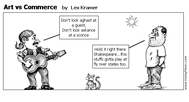 Art vs Commerce by Lex Kramer