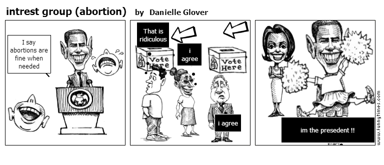 intrest group abortion by Danielle Glover