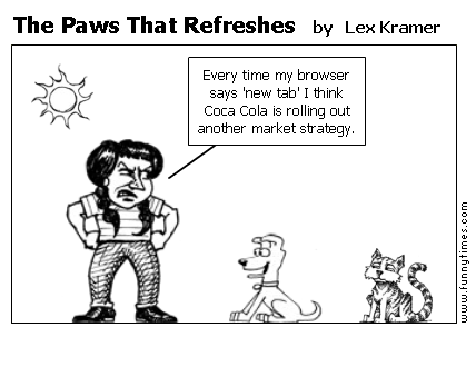 The Paws That Refreshes by Lex Kramer