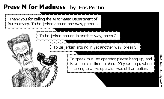 Press M for Madness by Eric Per1in