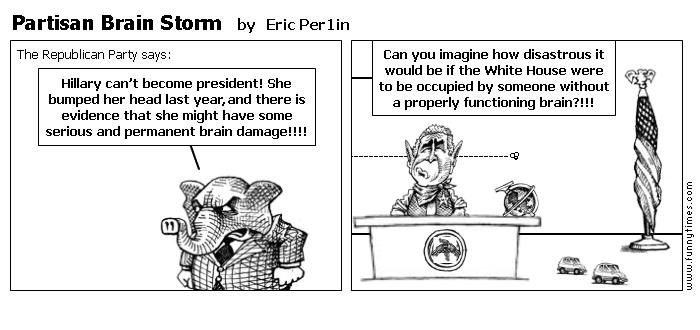 Partisan Brain Storm by Eric Per1in