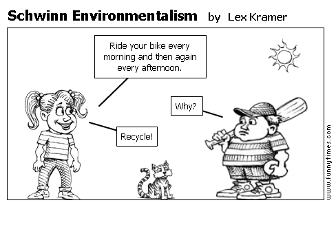 Schwinn Environmentalism by Lex Kramer