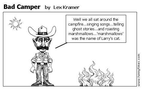 Bad Camper by Lex Kramer