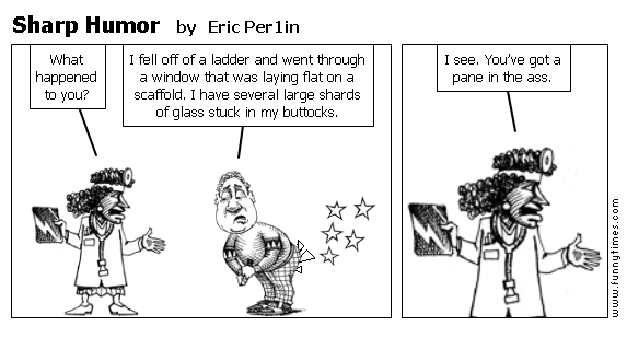 Sharp Humor by Eric Per1in