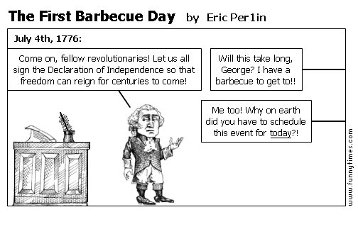 The First Barbecue Day by Eric Per1in
