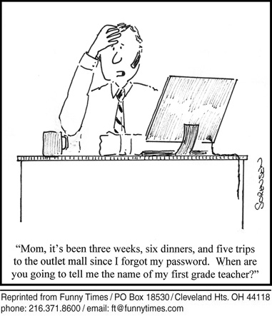 Funny mother computer sorensen  cartoon, May 21, 2014