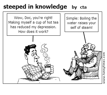 steeped in knowledge by cta