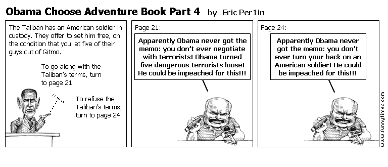 Obama Choose Adventure Book Part 4 by Eric Per1in