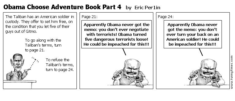 Obama Choose Adventure Book Part 4 by Eric Per1in