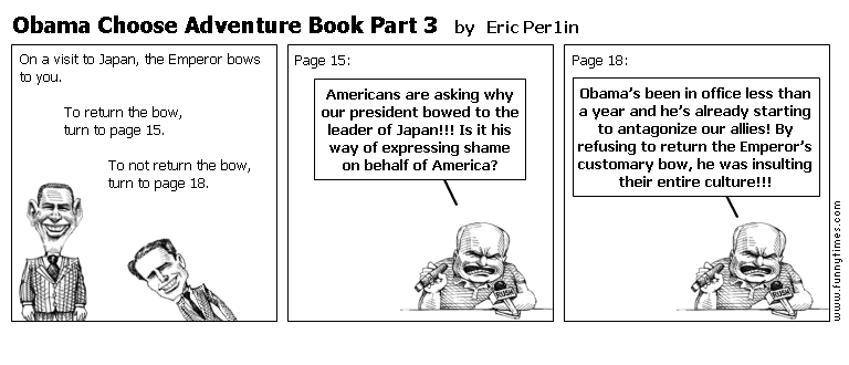 Obama Choose Adventure Book Part 3 by Eric Per1in