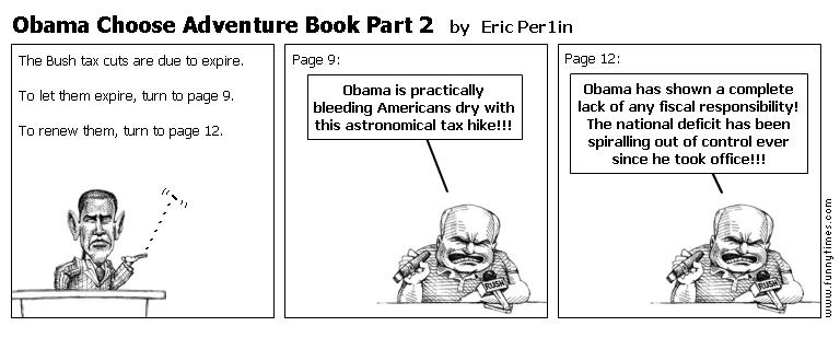 Obama Choose Adventure Book Part 2 by Eric Per1in
