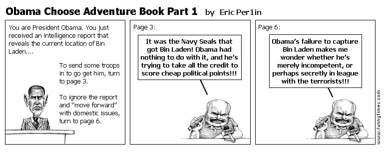 Obama Choose Adventure Book Part 1 by Eric Per1in