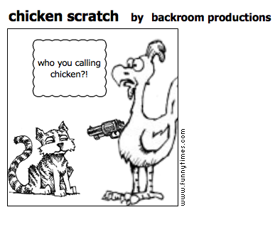chicken scratch by backroom productions