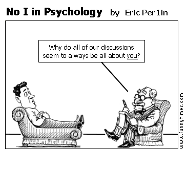No I in Psychology by Eric Per1in