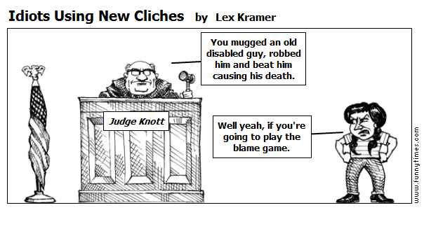 Idiots Using New Cliches by Lex Kramer