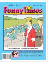 Funny Times August 2014 Issue