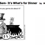 Uncle Sam- It's What's for Dinner