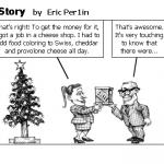 A Cheesy Christmas Story