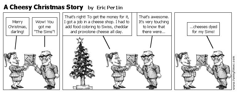 A Cheesy Christmas Story by Eric Per1in