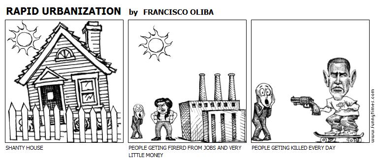 RAPID URBANIZATION - The Funny Times