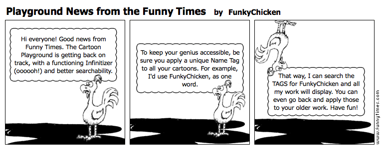Playground News from the Funny Times by FunkyChicken