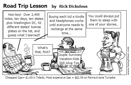Road Trip Lesson by Rick Dickulous