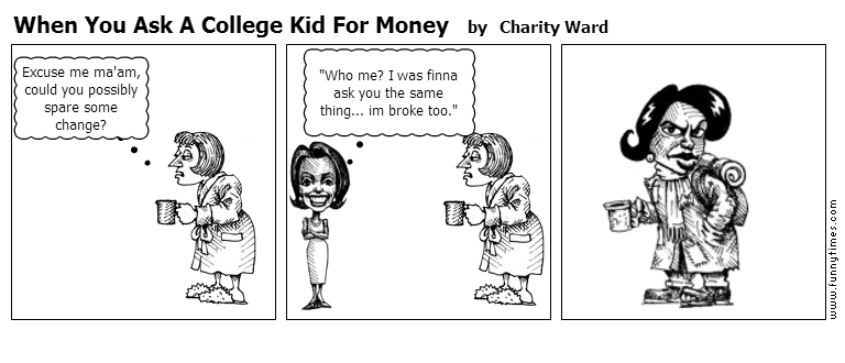 how to ask parents for money in college
