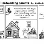 Ungrateful youth vs. Hardworking parents
